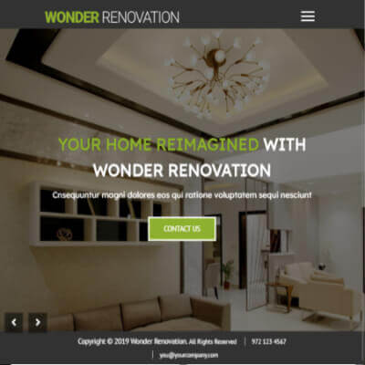 Wonder Renovation