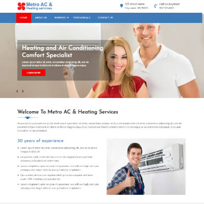 Metro AC & Heating services